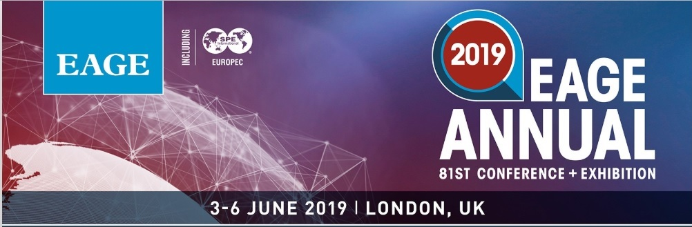 Visit us at the EAGE 2019 in London